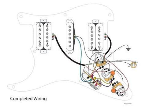 Diy Way Switch Dual Tone Stratocaster Mod Youtube