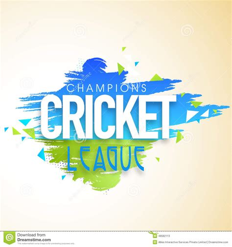 poster  banner design  cricket champions league