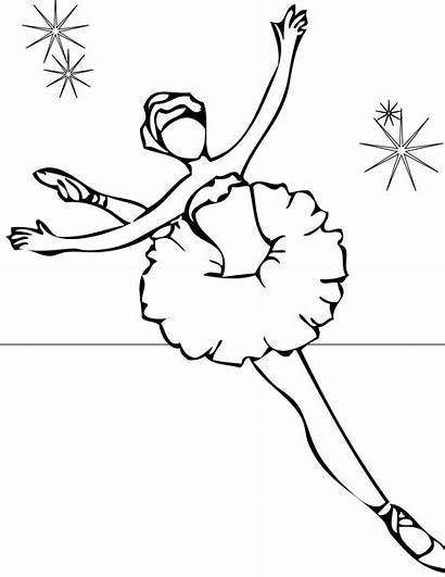 Coloring Ballet Pages Printable