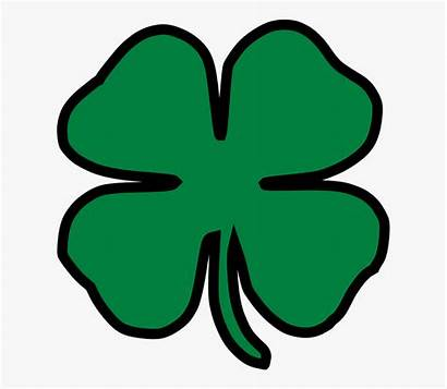 Shamrock Clipart Lucky Clover Four Luck Leaf