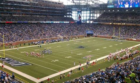 ford field section  home  detroit lions