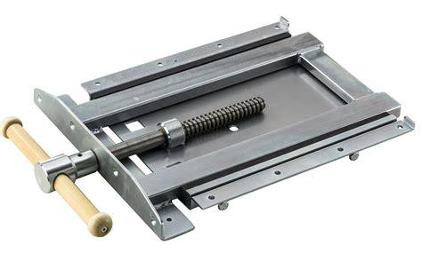 adjustable vise woodworking workbench welding table