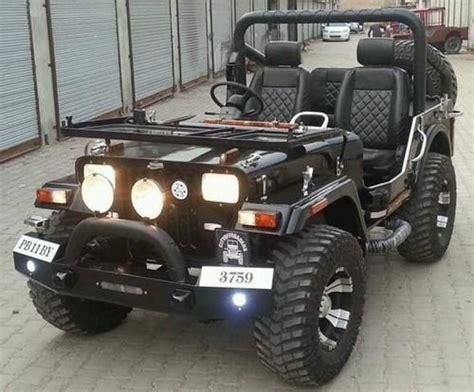 jeep open black open punjab jeep modified jeep rs