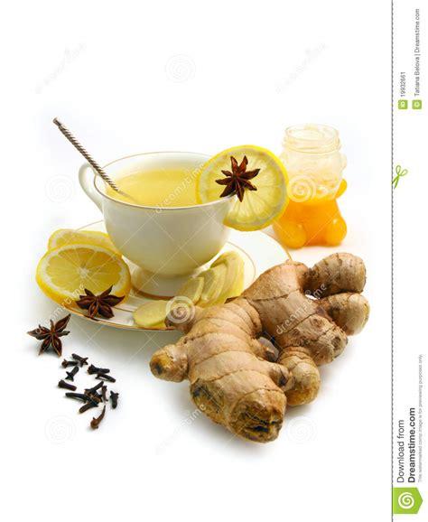 Gember citroen honing