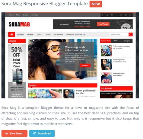 best free bloggong templates best free responsive templates impact social media