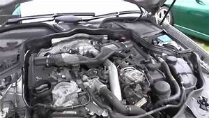 Engine Coolant Top Up Location Mercedes E Class W211 Sport