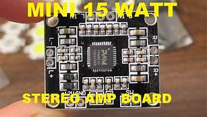 Pam8610 Tiny Stereo Audio Amplifier Board Review And Test