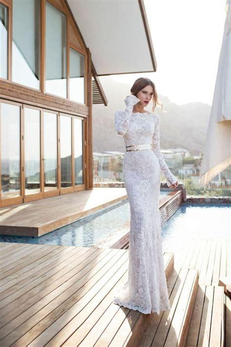 robe de chambre hiver robe de mariage civil en 60 images tendances 2016 2017