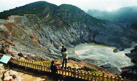 taman wisata alam gunung tangkuban perahu mega wisata