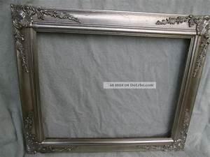 Bilderrahmen Antik Silber : gro er bilderrahmen prunkrahmen wandrahmen antik silber holz 63x53x2cm ~ Frokenaadalensverden.com Haus und Dekorationen