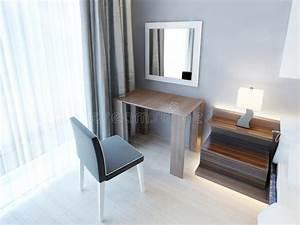Coiffeuse Moderne Avec Miroir : coiffeuse moderne avec la chaise et le miroir illustration stock illustration du l gance ~ Farleysfitness.com Idées de Décoration