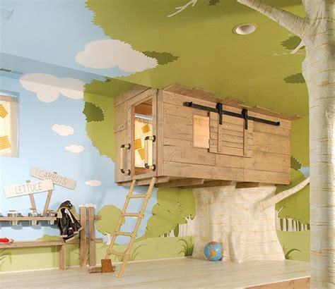 cabane pour chambre déco de chambre d 39 enfant la cabane intérieure