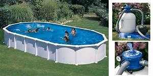 Piscine Hors Sol Acier Dream Pool Sans Renforts 7m30 X