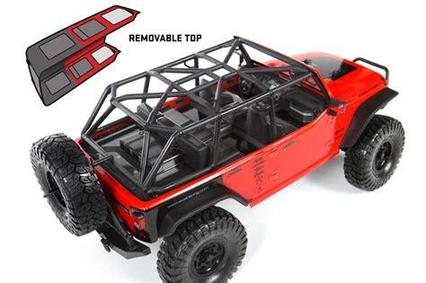 axial racing scx jeep wrangler jk  icon piggyback