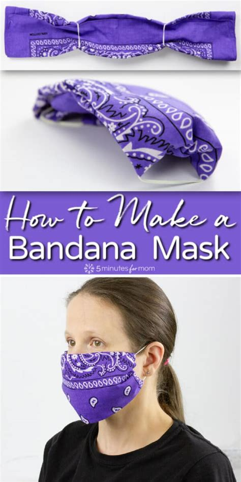 bandana mask     easiest  sew face mask