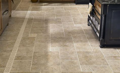 stone tile kitchen floor   Google Search   Floors