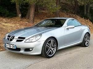 Mercedes Cabriolet Occasion : mercedes classe slk r171 280 cabriolet gris clair occasion 17 400 64 000 km vente de ~ Medecine-chirurgie-esthetiques.com Avis de Voitures