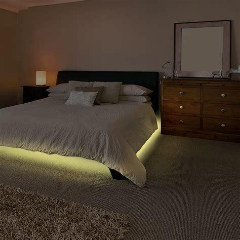 Led Streifen Bett by Nachtlicht Mit Bewegungsmelderbettlicht Led Streifen