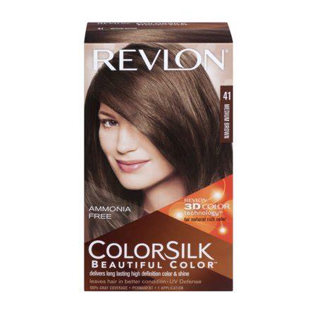 revlon colorsilk beautiful color permanent  medium brown