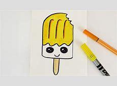KAWAII DIY EIS AM STIEL zeichnen Gutschein und Einladung