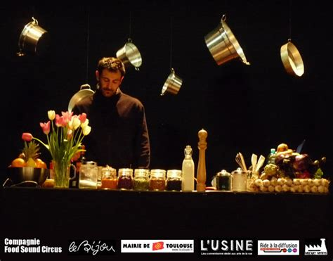 cuisine et spectacle cook 39 n 39 roll spectacle de théâtre cuisine musique et