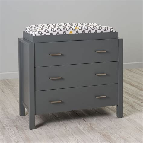 grey changing table with drawers baby changing tables diaper changing stations the land