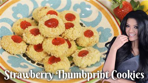 Setelah lama tidak ngeblog, saatnya sekarang posting kue kering dulu ya. Resep Strawberry Thumbprint Cookies - YouTube
