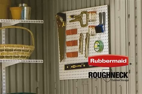 Rubbermaid Roughneck Storage Shed Accessories by Rubbermaid Roughneck Shed Accessories Flickr Photo