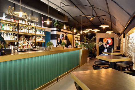 Bar Designs by Bloom In Town Restaurant And Bar By Diorama Atelier