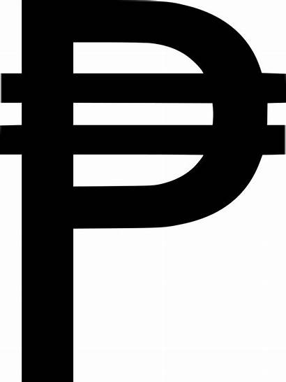 Peso Philippine Sign Symbol Icon Forex Svg
