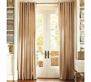 Lace, And, Curtains, The, Best, Window, Treatment, For, French, Doors, U2013, Homesfeed