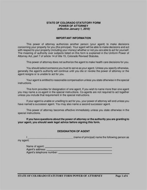blank power of attorney form ny blank durable power of attorney form new york form