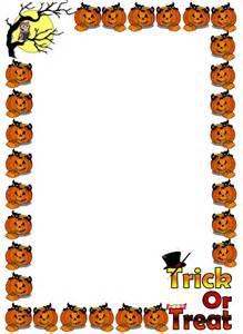 Halloween Page Border Clip Art