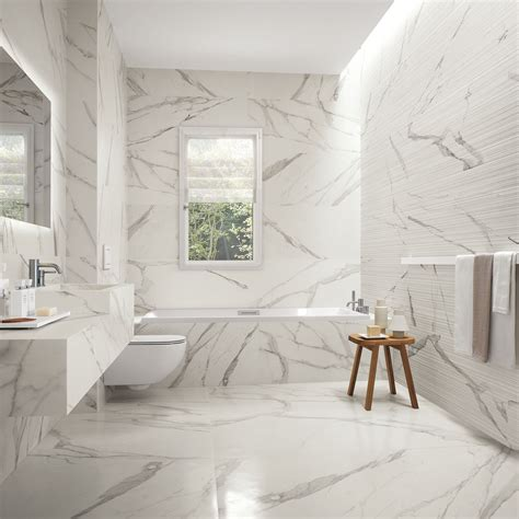 bathroom tile design ideas for small bathrooms statuario marble series the tile house