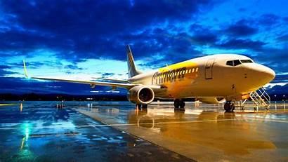 Boeing Wallpapers Sunset Desktop Plane Airplane Airliner