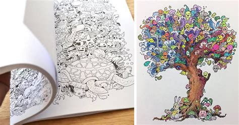incredibly detailed coloring books  adults called
