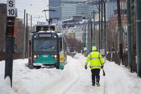 mbta service limited tuesday slow commute expected bu
