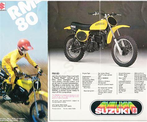 1978 Suzuki Rm80 Convertion (buzz)