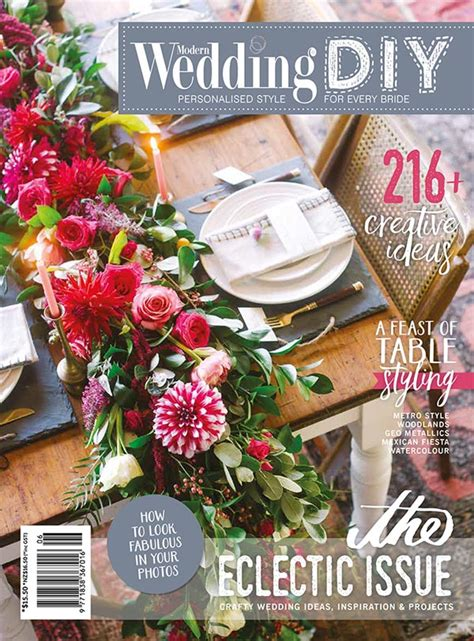 modern wedding diy magazine the eclectic issue now