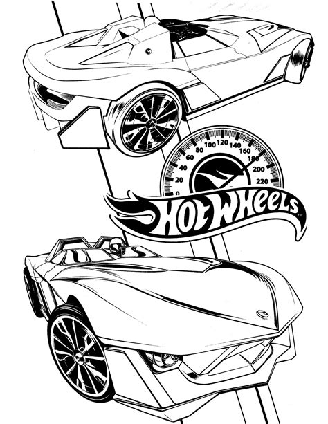 hot wheels coloring page | Мади in 2019 | Cars coloring ...