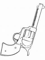 Coloring Gun Pages Shooter Six Drawing Guns Pistol Tattoo Easy Nerf Boys West Colouring Cowboy Handguns Printable Getdrawings Popular sketch template