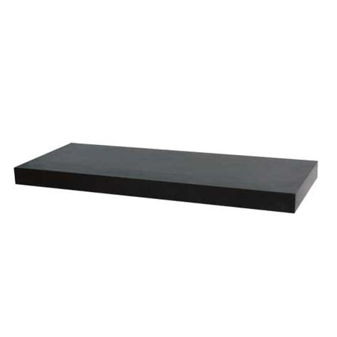 tablette flottante   brun noir rona