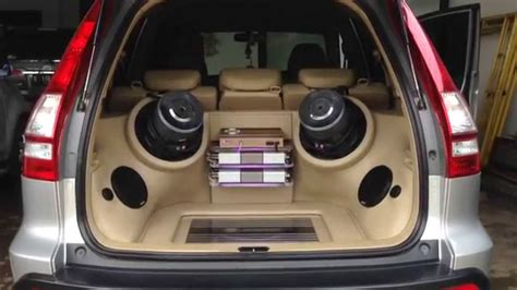 audio mobil honda crv sq loud german maestro innovation car audio jakarta youtube