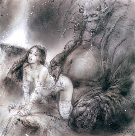 Nude And Erotic Art Royo Luis The Blue Prince
