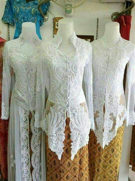 Kebaya Pengantin Modern Jumbo 50 gambar model baju kebaya pengantin elegan dan modern