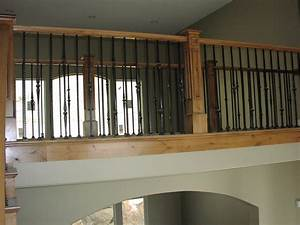 Stairs and Railing on Pinterest Stair Railing, Railings