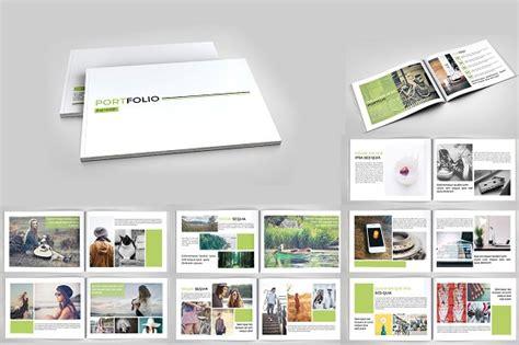 indesign portfolio template indesign portfolio brochure v127 brochure templates creative market