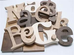 Hardwood letters specialty wood letters maple letters for Order wooden letters