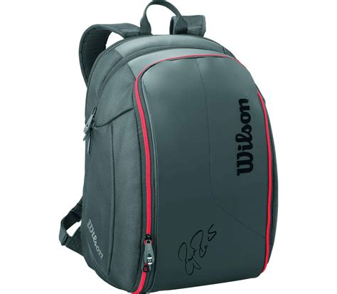 wilson federer dna backpack tennis bag black  kopen  de keller sports