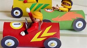 Petite Voiture Enfant : fabriquer des petites voitures pour playmobil carton ~ Melissatoandfro.com Idées de Décoration